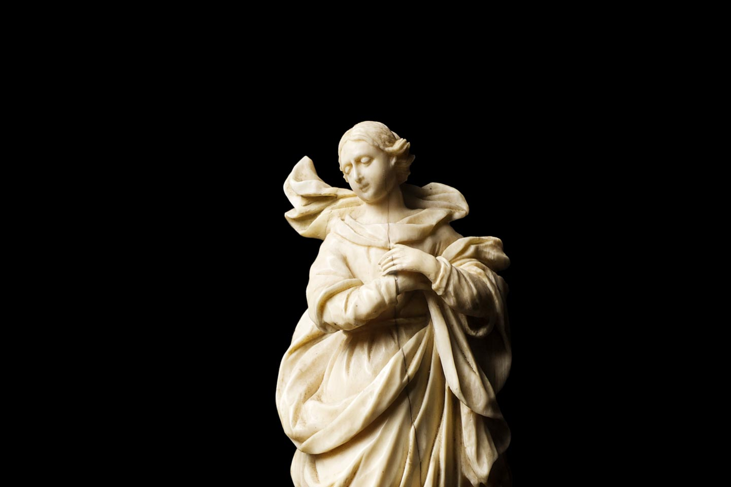 Vergin of the Immaculate Conception from Private Collection, Baroque Art, 18th Century