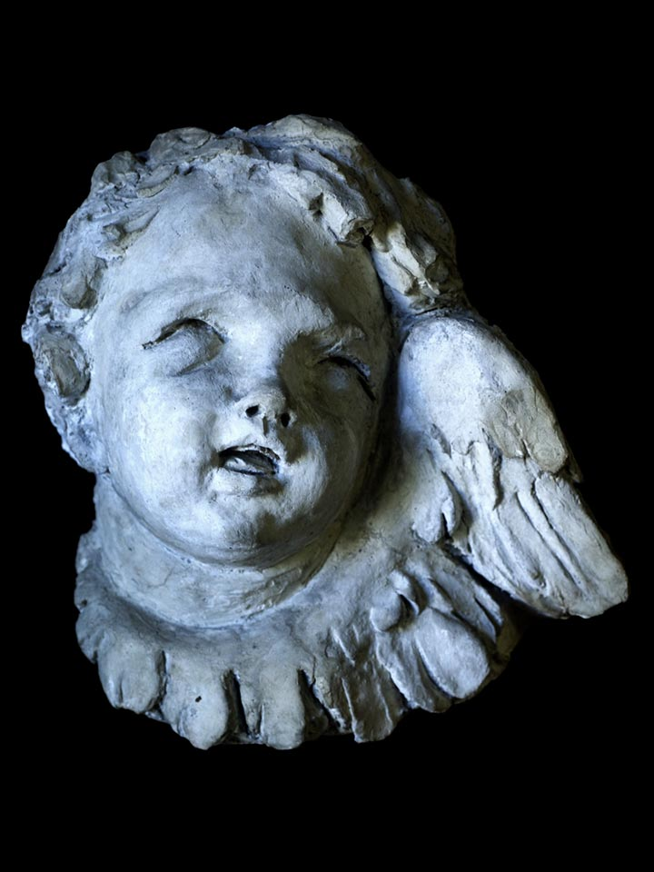 Winged Cupid from Private Collection, Baroque Art, 18th Century