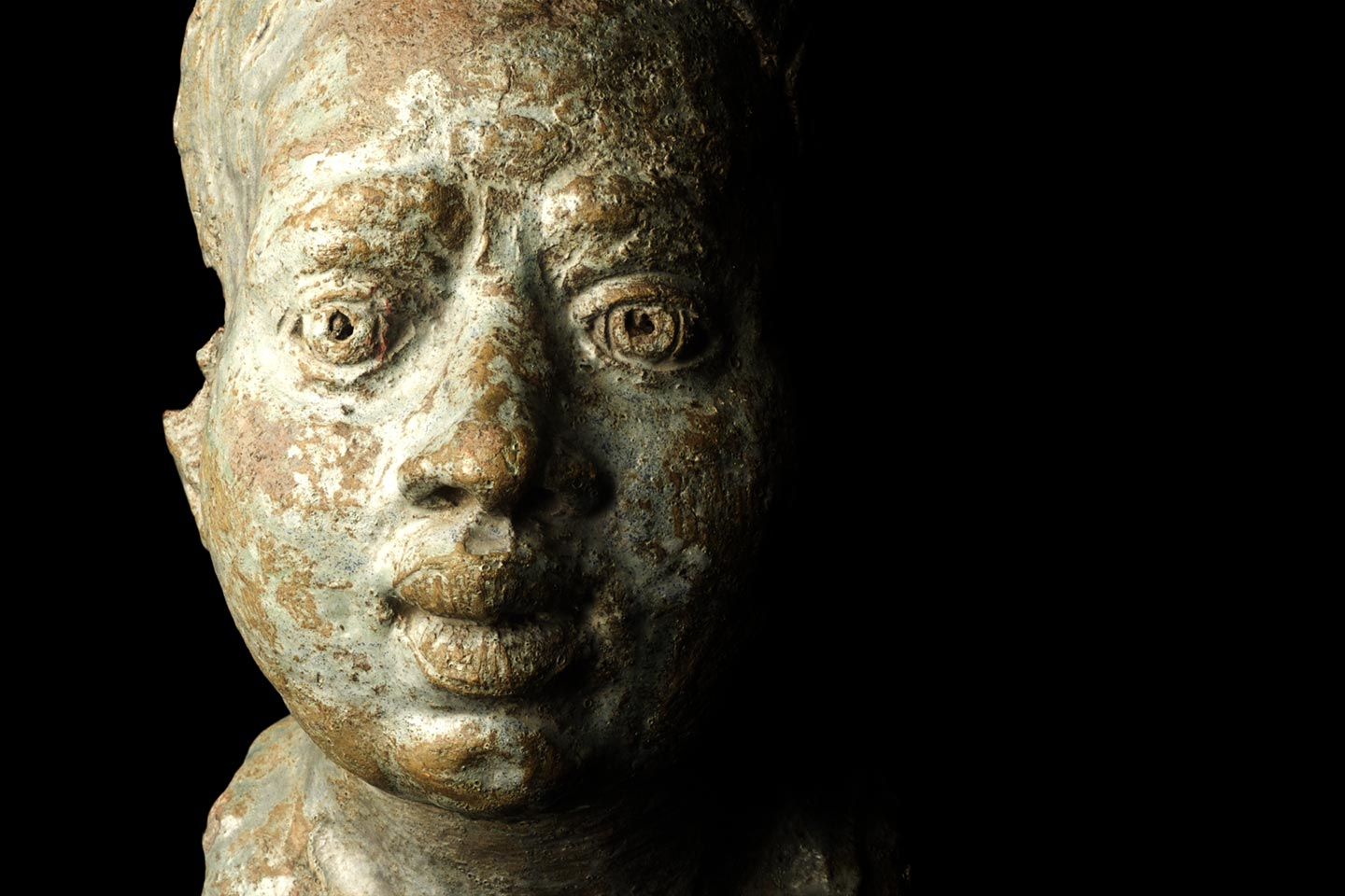 African Woman from Private Collection, Medieval Art, 11th Century