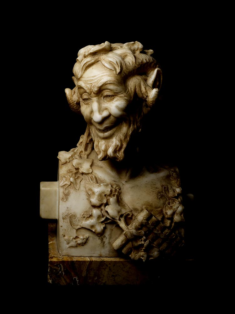 Pan from Private Collection, Neoclassical Art, 18th Century
